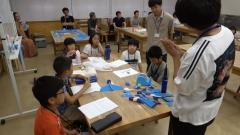 第1回わくわく科学教室~風船ストローロケット~